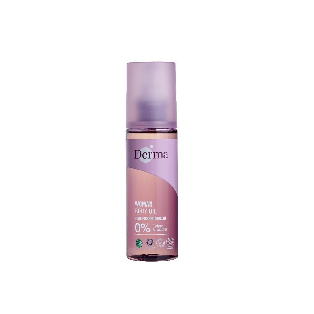 丹麥 Derma - 女性有機低敏洗護 - 有機全能護理油 145ml