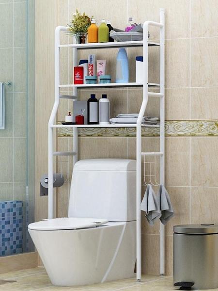 衛生間浴室置物架落地壁掛廁所收納架 cf
