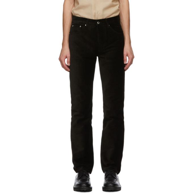 Sefr 黑色 Sin 灯芯绒长裤
