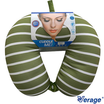 Verage 維麗杰 四合釦雙色按摩頸枕 (G橄欖綠)