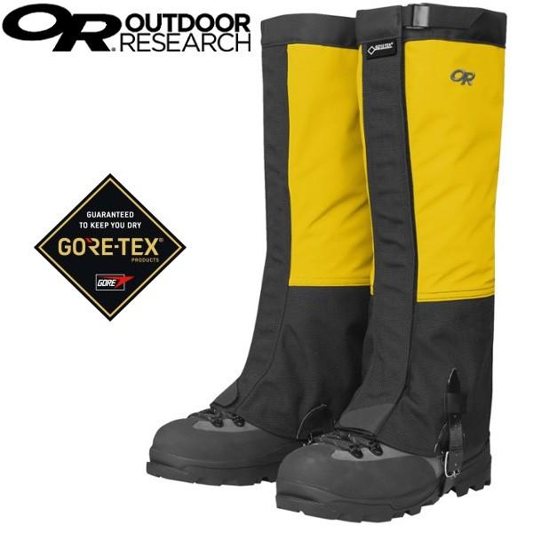 Outdoor Research 登山綁腿/鱷魚綁腿 Gore-tex綁腿 女款OR243112 黃色 0501