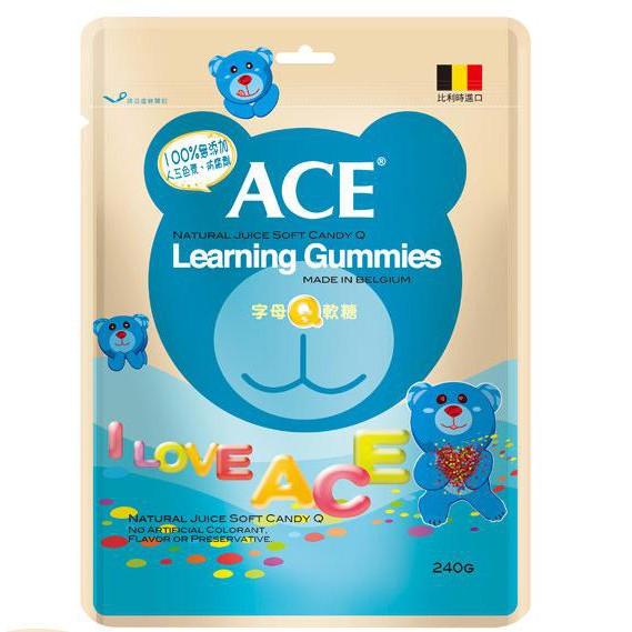 ACE字母Q軟糖量販包(240G/袋)