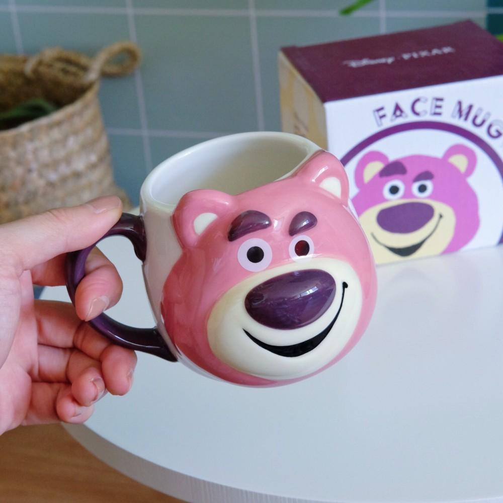 《玩具總動員》日本商品 熊抱哥陶瓷馬克杯 Toystory  Lotso Huggin' Bear
