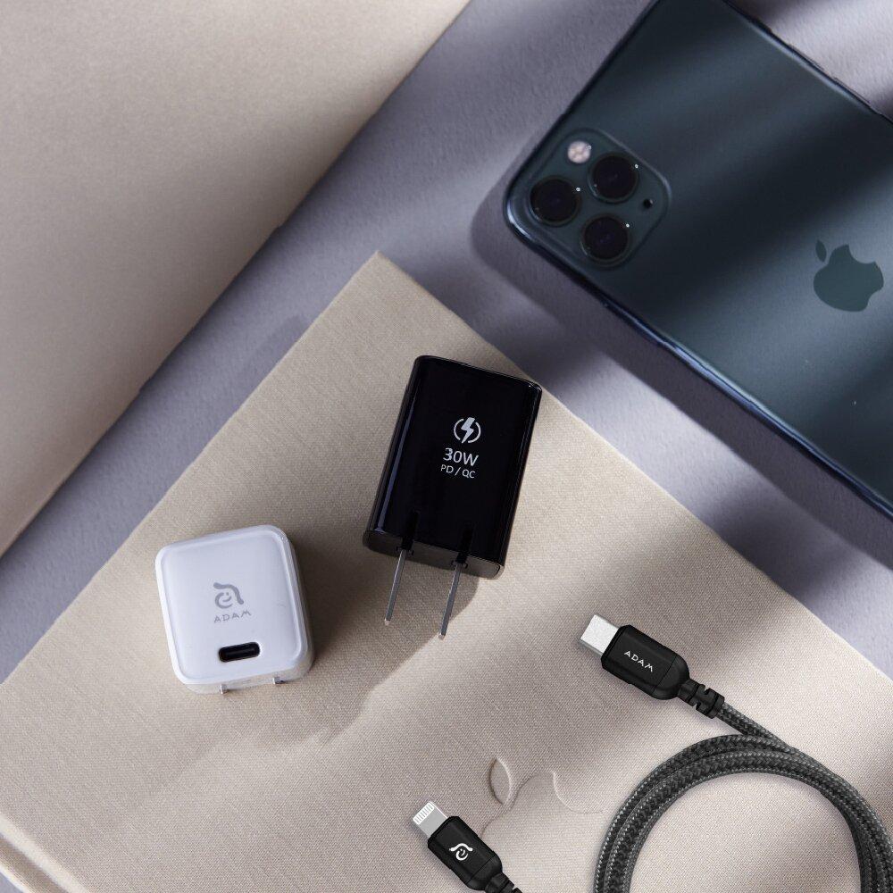 ADAM 亞果元素 OMNIA X3 USB-C PD / QC 3.0 30W 迷你快速充電器