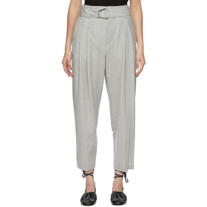 3.1 Phillip Lim 灰色束带长裤