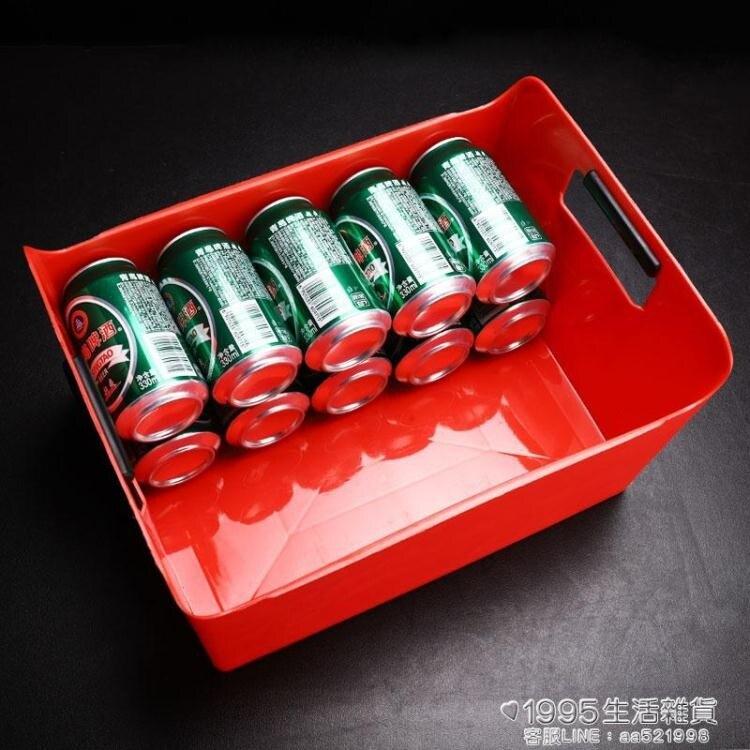 啤酒筐塑料長方形冰桶KTV裝酒框啤酒籃啤酒框酒吧箱裝啤酒的框 清涼一夏钜惠