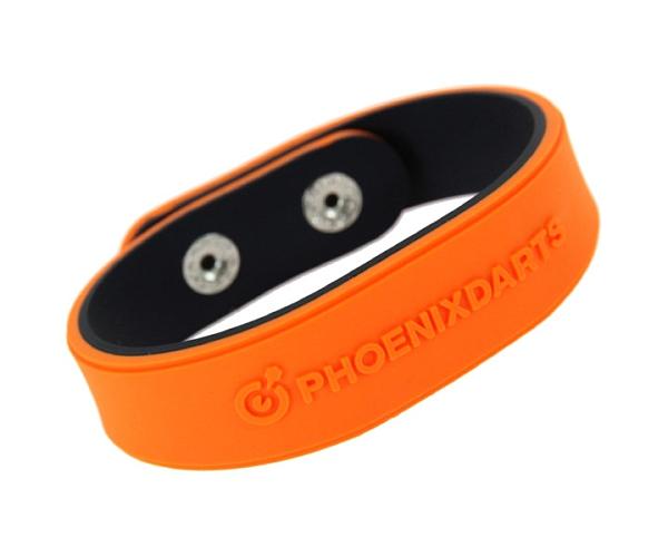 【PHOENIX】PHOENicA WristBand Orange x Black 飛鏢配件 DARTS