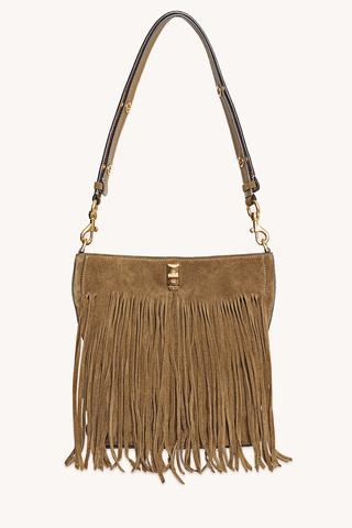Darren Bucket Bag with Fringe
