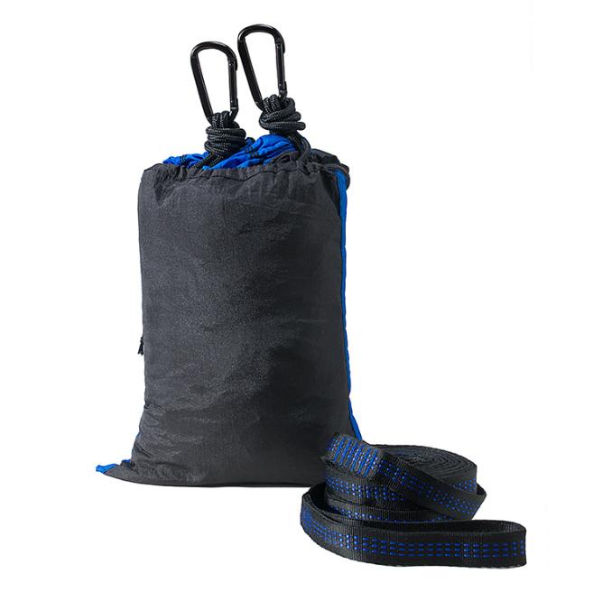 尼龍雙人吊床戶外野營降落傘布拼色超輕便攜吊床99購物節