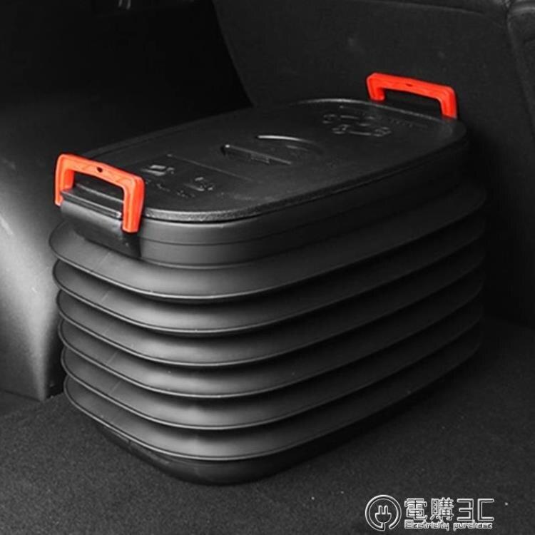 車載垃圾桶汽車內用可折疊車用伸縮雨傘桶收縮桶車上置物收納用品