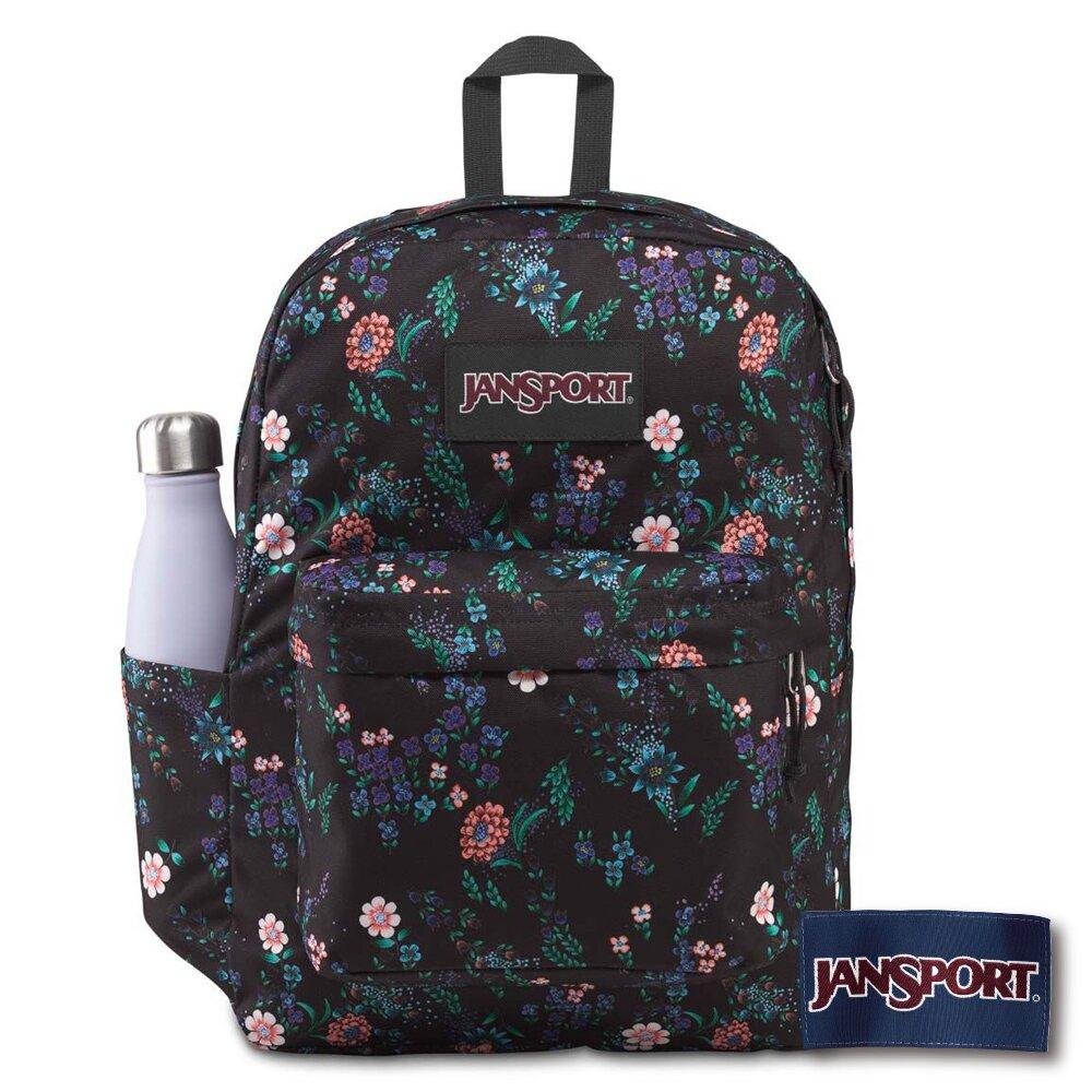 JANSPORT SUPERBREAK PLUS 系列後背包 -魅惑花園