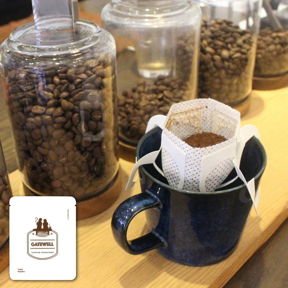 gatewell巴西-河叉莊園 日曬 濾掛式咖啡 13克 (10入)