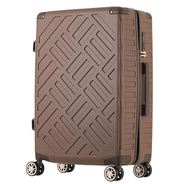 日本LEGEND WALKER 5204-28吋 PP輕量行李箱 純摩卡