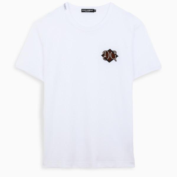 Dolce & Gabbana White DG t-shirt