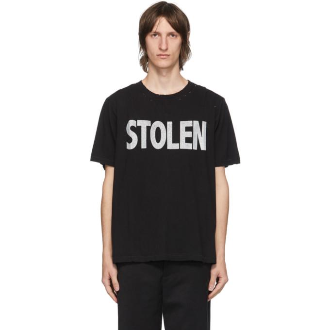 Stolen Girlfriends Club SSENSE 独家发售黑色 Blatant T 恤