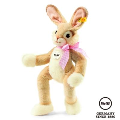 STEIFF德國金耳釦泰迪熊 Lula Rabbit , golden brown 40cm (寵物樂園)