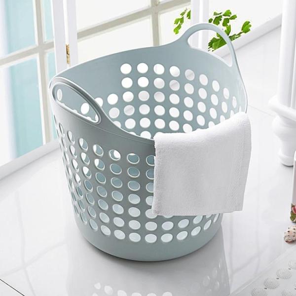 塑膠大號髒衣籃髒衣服收納筐衣物玩具雜物收納籃髒衣簍樂淘淘