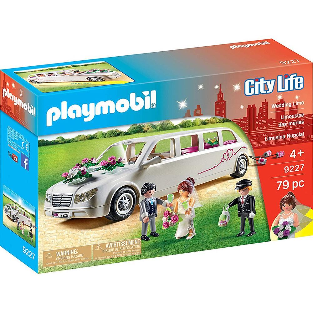 playmobil 婚禮 加長禮車