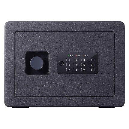 保險櫃 得力家用小型迷你指紋密碼可入牆衣櫃隱形全鋼安全防盜保險箱【全館免運】