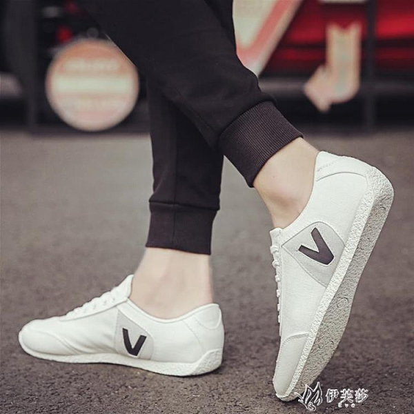 2020新款夏季休閒鞋子男韓版潮流百搭帆布板鞋透氣潮鞋男士 【快速出貨】