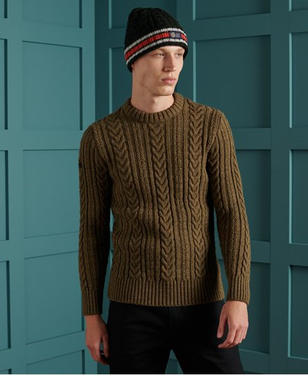Superdry Jacob Cable Crew Jumper
