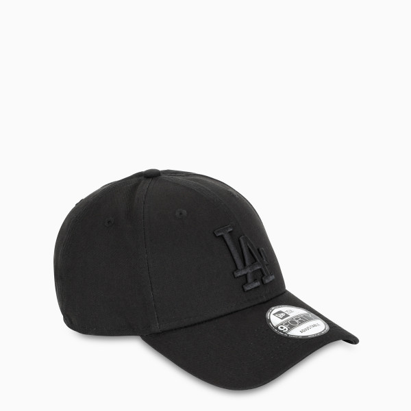New Era Cap Black LA baseball cap