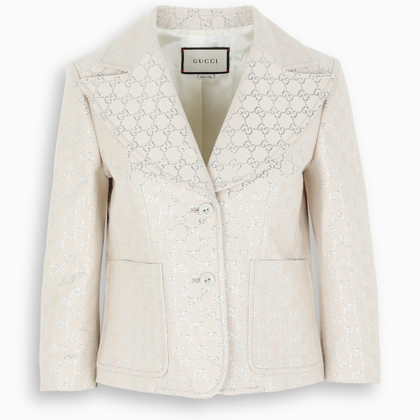 Gucci Light GG lamé jacket