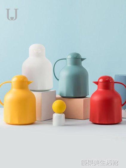 佐敦朱迪保溫水壺家用大容量保溫壺熱水瓶玻璃內膽保溫水瓶暖水瓶
