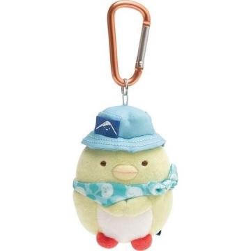 角落生物 絨毛吊飾 沙包娃娃 布偶 玩具 吊飾 掛飾 鑰使圈 鎖圈 (企鵝)
