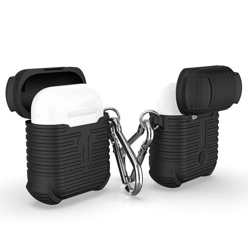 cafele 蘋果藍牙耳機矽膠保護套 airpods 蘋果耳機矽膠套 蘋果藍芽耳機套 保護殼