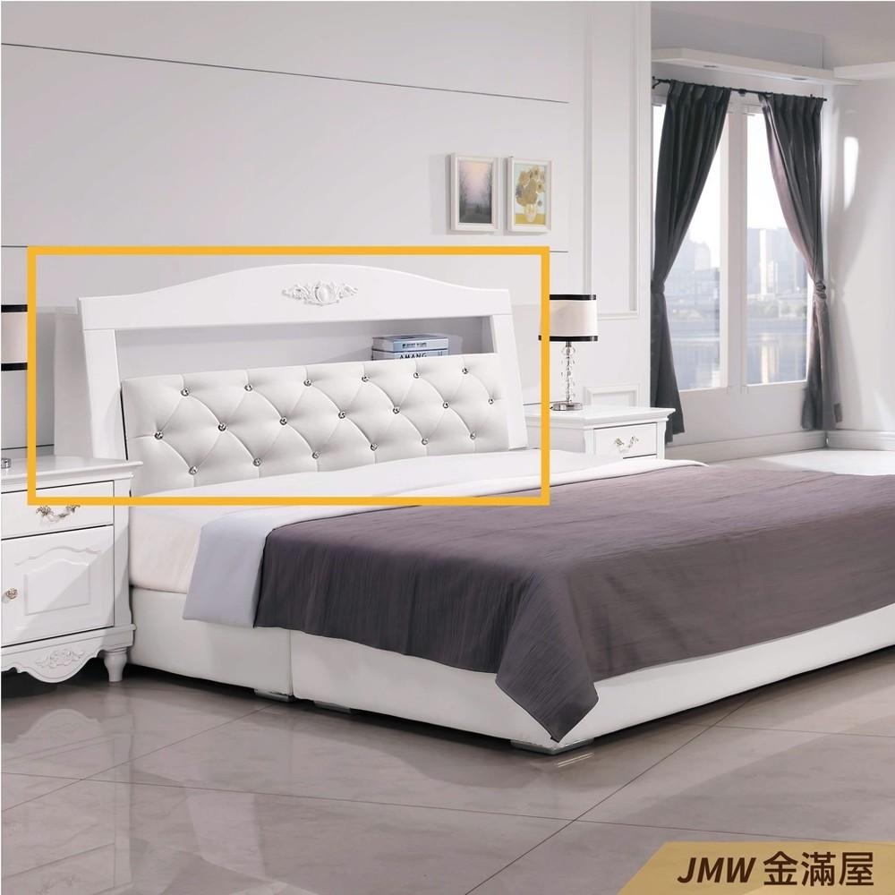 標準雙人5尺 床頭片 床頭櫃 單人床片 貓抓皮 亞麻布 貓抓布金滿屋j120-01 -