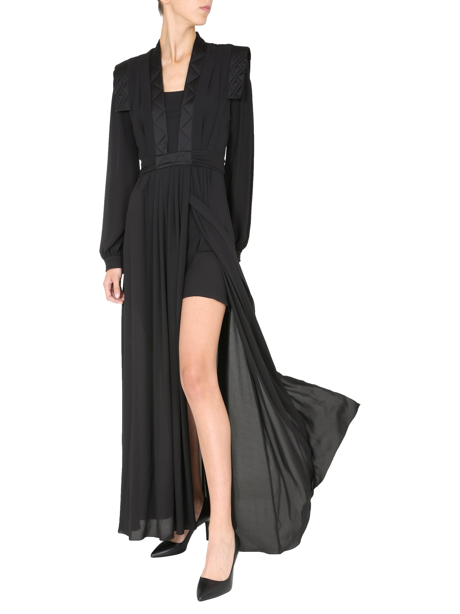 philosophy di lorenzo serafini long dress