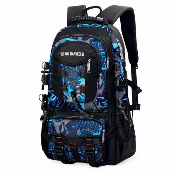 後背包男士青年休閒戶外多功能電腦包書包時尚潮大容量旅行背包男
