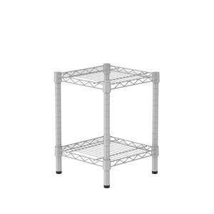 (組)特力屋烤漆二層架 -白 33x33x45CM