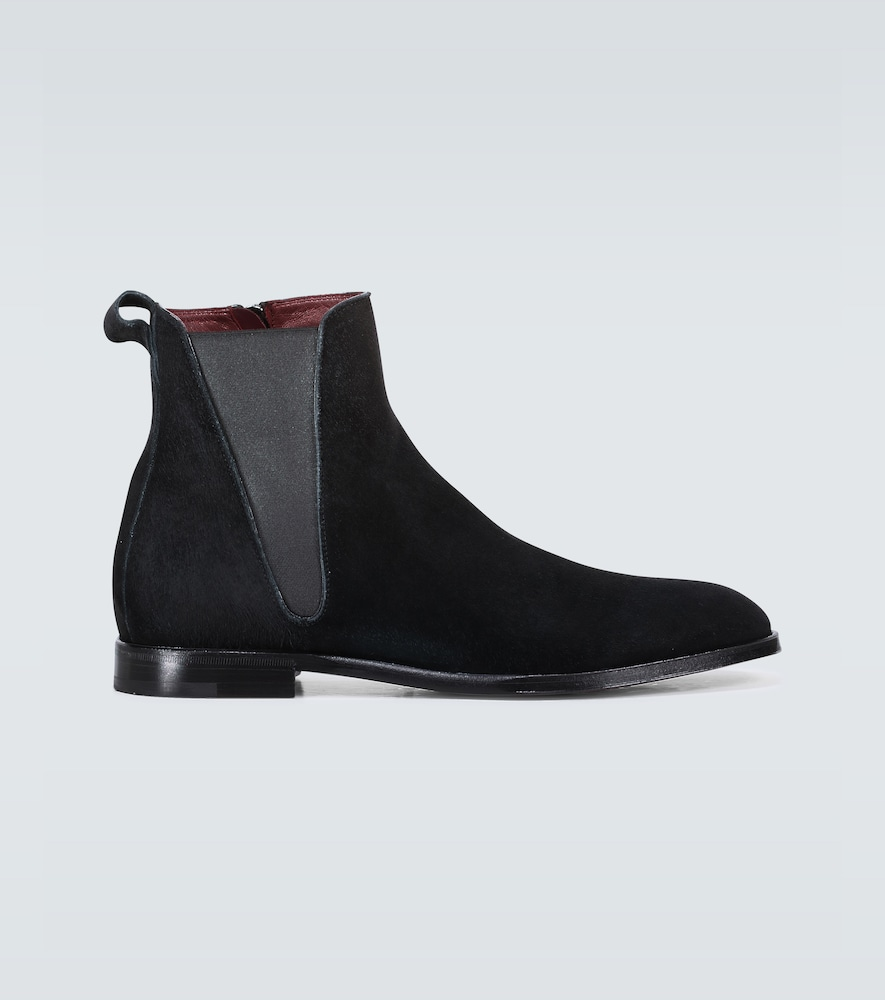 Beatles suede ankle boots