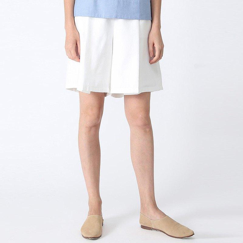 CASTRO 棉质短裤白色