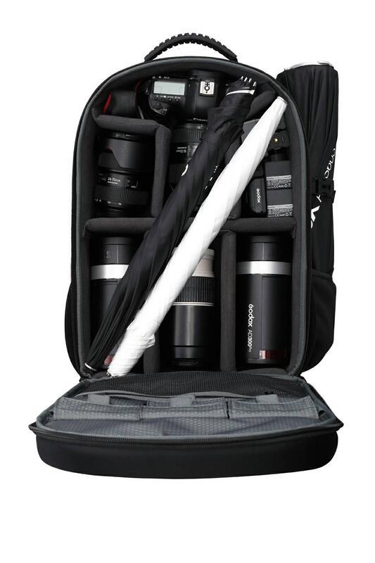 現貨 GODOX 神牛 AD300Pro x2 雙燈後背包套組 反光傘 透射傘 棚拍 外拍 TTL 閃光燈