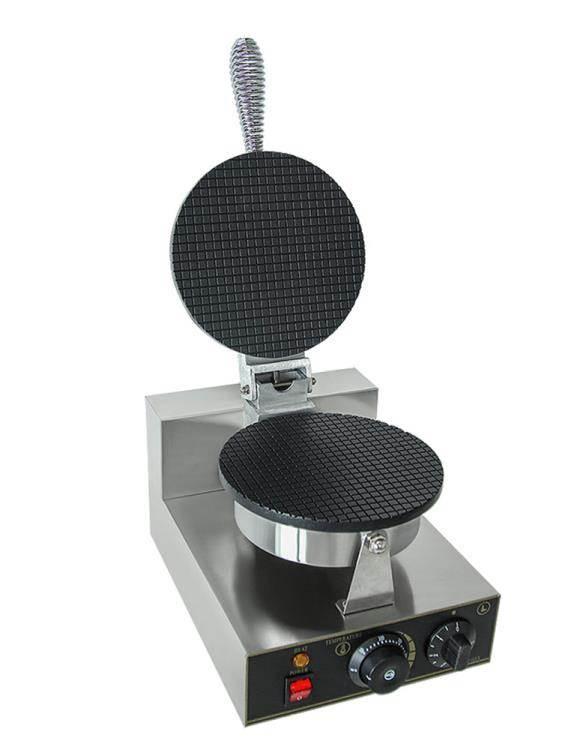萬卓雪糕皮機商用蛋捲機冰淇淋托脆皮機雞蛋捲機小型甜筒機蛋筒機