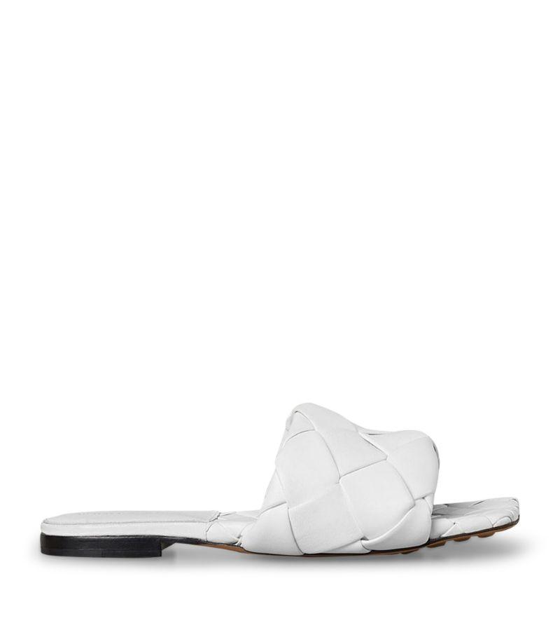Bottega Veneta Leather Bv Lido Flat Sandals