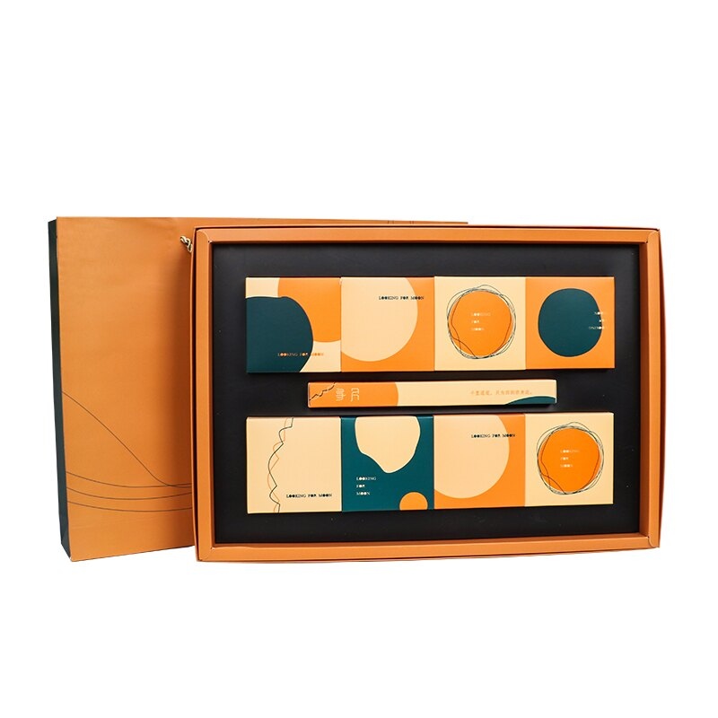 中秋禮品盒月餅包裝禮盒8粒裝99購物節