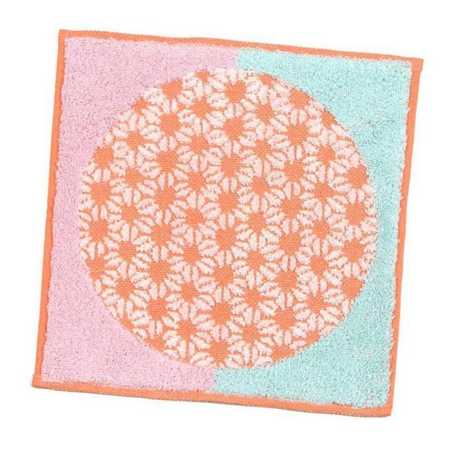 伊織和風摩登手帕巾/ 橘色 eslite誠品