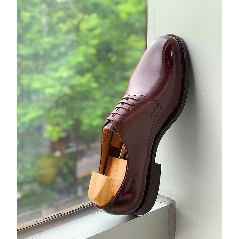JINZHI今制60號鞋楦手工正裝萬哈梅爾素面五孔德比