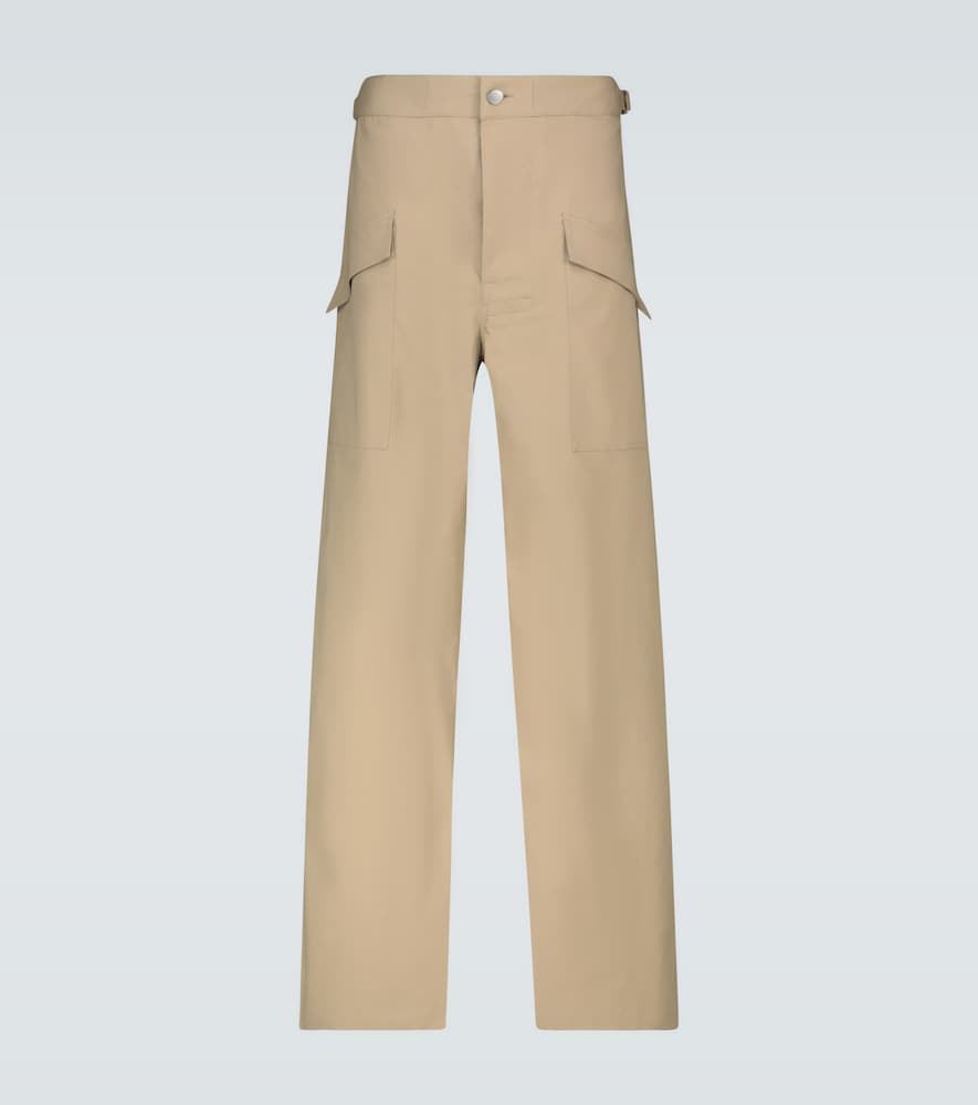 Relaxed-fit cotton pants