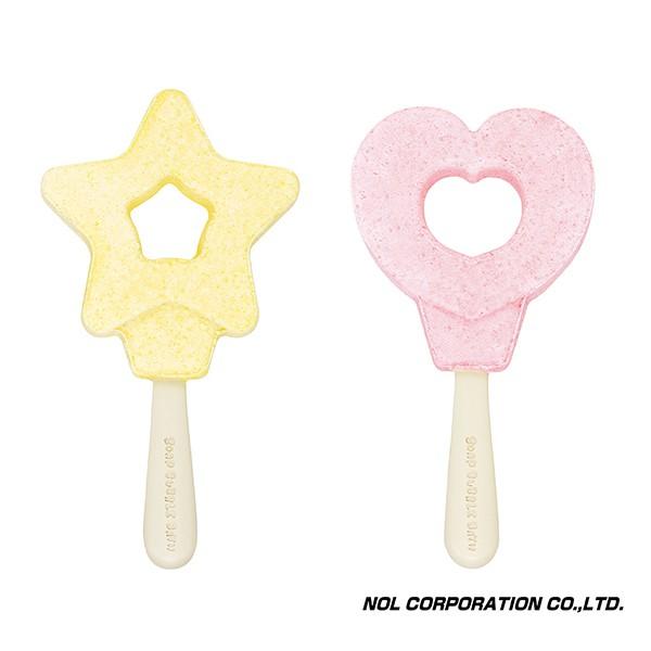 日本NOL 泡泡入浴棒 -星星/心型 (泡澡用品 洗澡玩具)