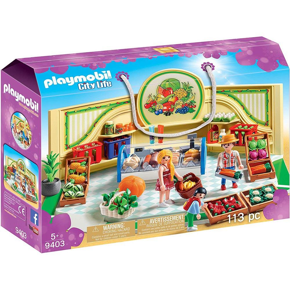 playmobil 購物趣 蔬果店