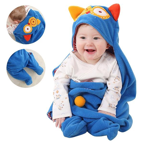 嬰兒包巾-造型分腿睡袋 多功能保暖抱毯 蓋被-JoyBaby