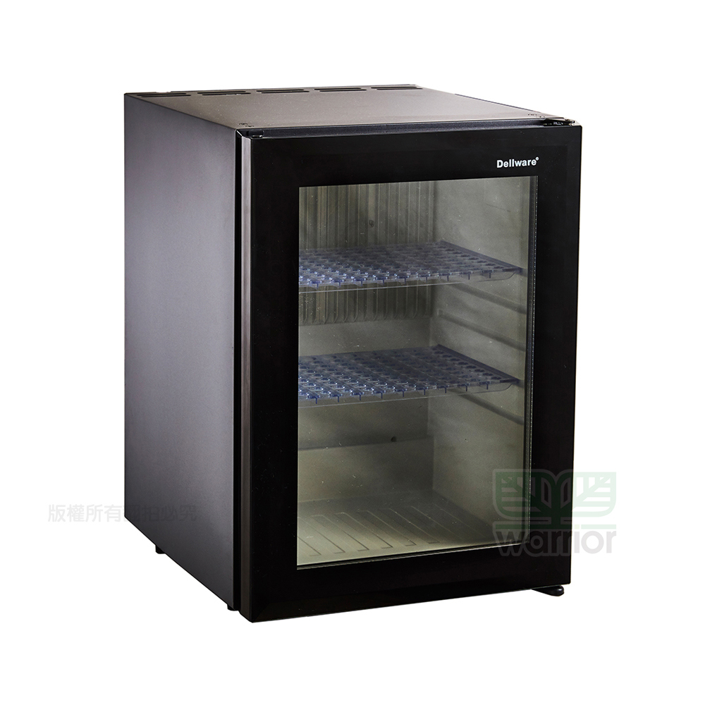 Warrior樺利 Dellware鋼化玻璃門吸收式無聲客房冰箱 (XC-40RT)