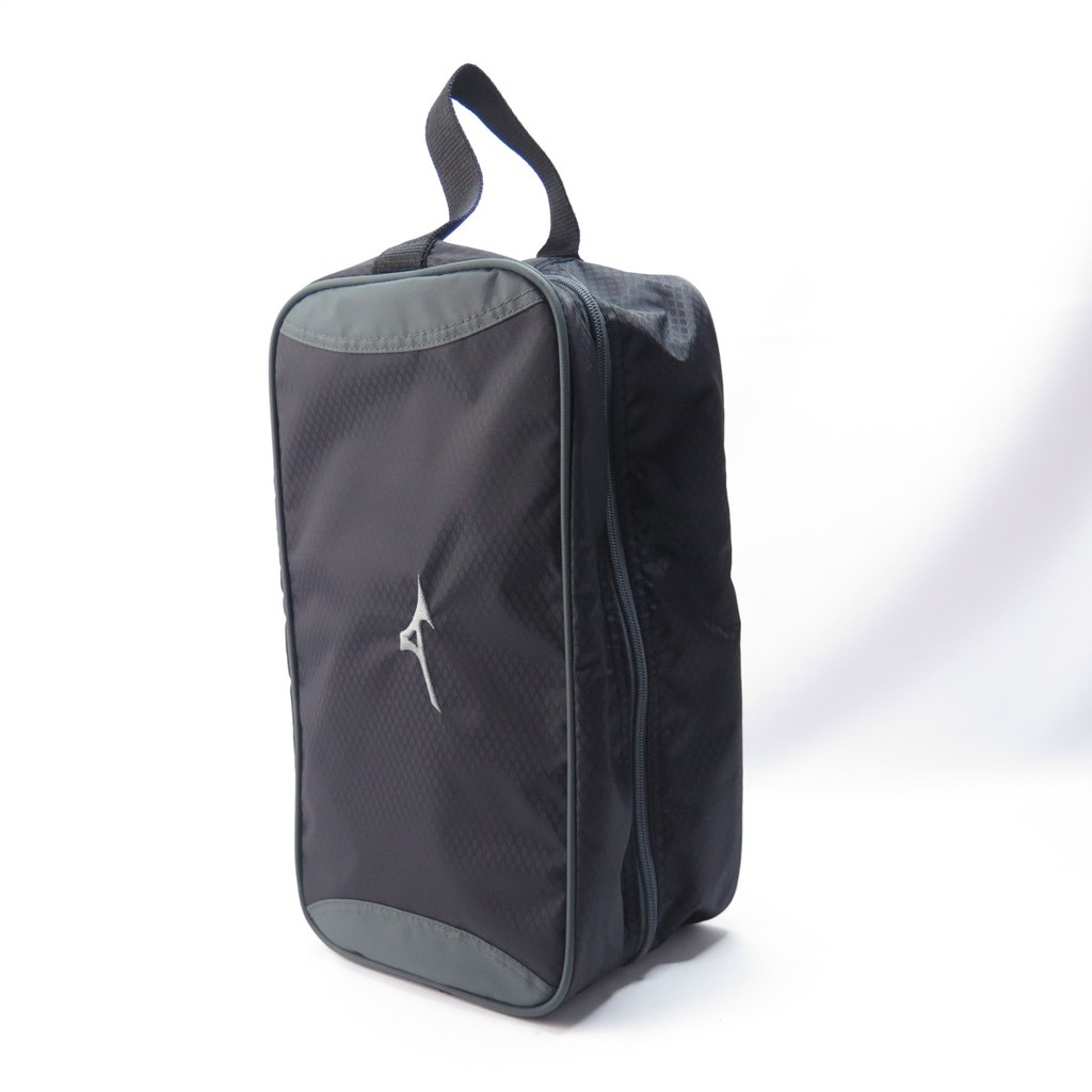 MIZUNO 手提包 鞋袋 B3TM071309 黑 34X15.5X19cm 約10L【iSport愛運動】