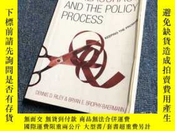 二手書博民逛書店Bureaucracy罕見and the Policy Proc