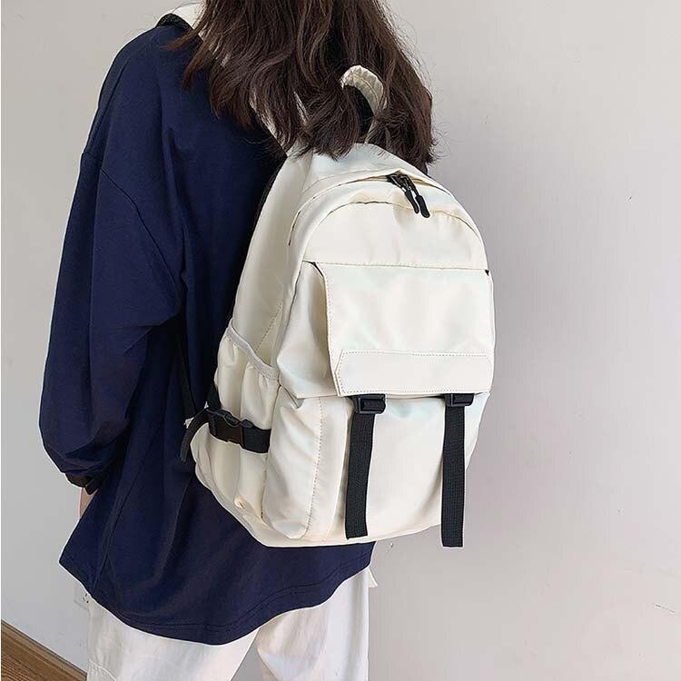 【5折超值價】潮流時尚日系簡約街頭風格休閒商務後背包